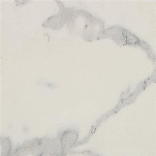 ONE Quartz Surfaces - Nature Flecks Quartz White Statua