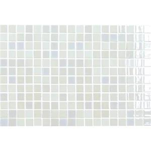 GlassTile UptownGlasstrade UP1311MS1P PearlWhite