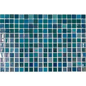 GlassTile UptownGlasstrade UP1511MS1P PearlBlue