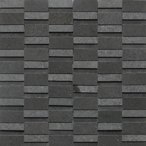 Stone A La Mod High-Low Random Polished And Honed Urban Bluestone L222