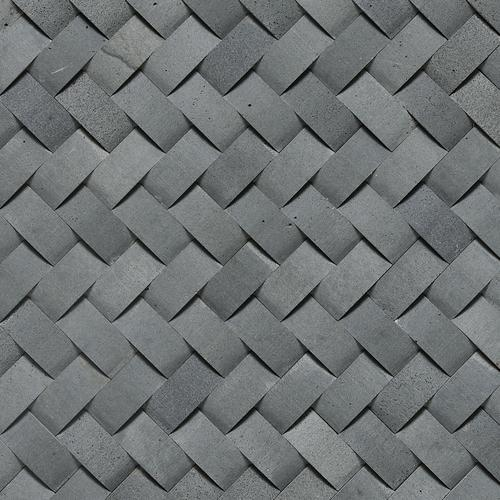 Stone A La Mod Basketweave Honed Urban Bluestone L222