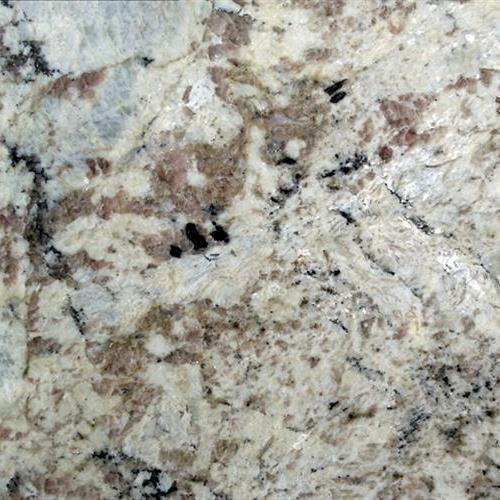 Natural Stone Slab - Granite White Spring