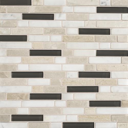 Stone Radiance Kinetic Khaki Random Mosaic Blend SA50