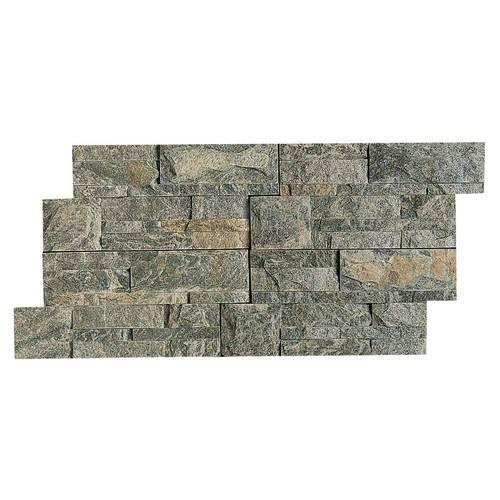 Stacked Stone Beijing Green Stacked Stone Natural Cleft Ungauged S282