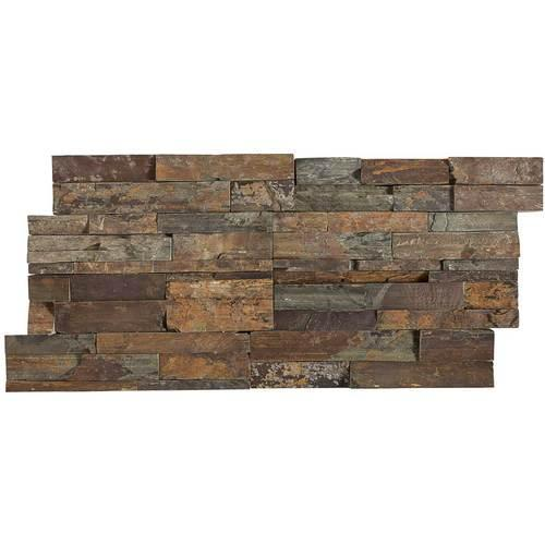 Stacked Stone Tibetan Slate Stacked Stone Natural Cleft Ungauged S317