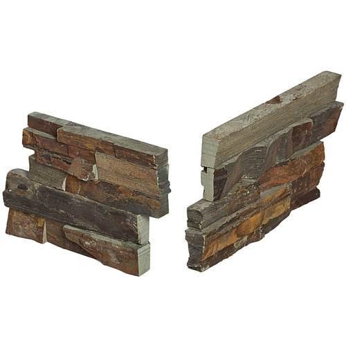 Stacked Stone Tibetan Slate Stacked Stone Corner S317