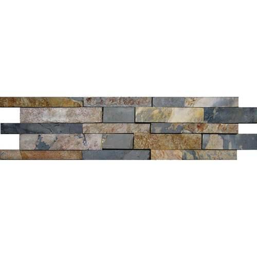 Stacked Stone Indian Multi Random Kayla High-Low Natural Cleft Ungauged S771