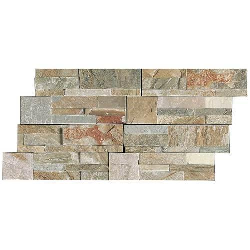 Stacked Stone Golden Sun Stacked Stone Natural Cleft Ungauged S783