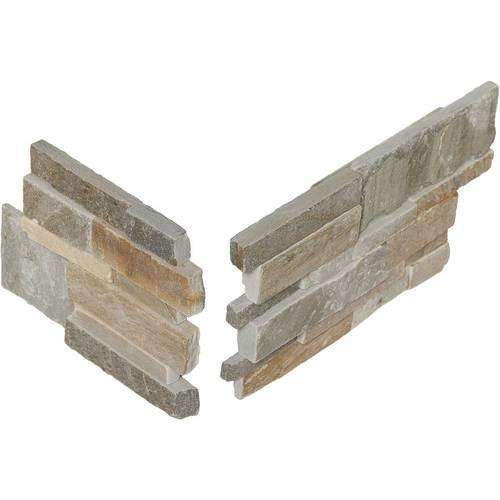 Stacked Stone Golden Sun Stacked Stone Corner S783