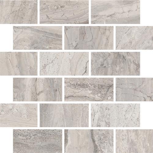 Amalfi Stone Ceramic Bianco Scala - Brick Mosaic