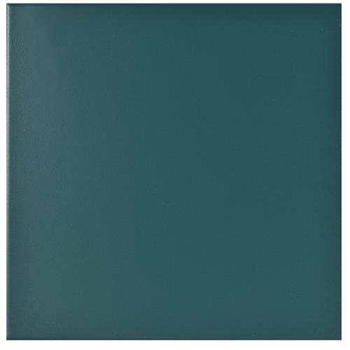 Retro Ceramic Teal - 8X8