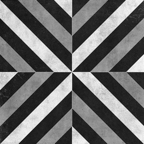 Cementine Ceramic Contrast Croce