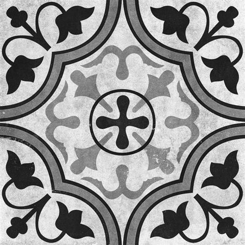 Cementine Ceramic Contrast Foglie