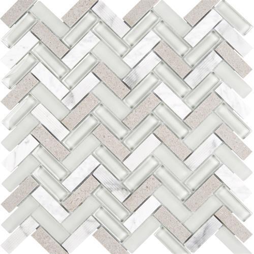 Gray - Herringbone