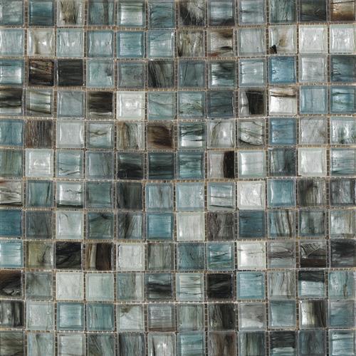 Murano White-Blue