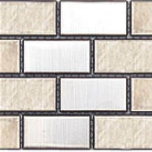 Inox Mosaics Rectangular - Random