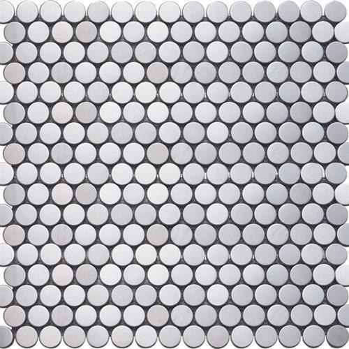 Inox Mosaics Silver - Penny