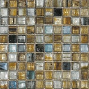 GlassTile InterglassMurano IM-GLDNBL Golden-Blue