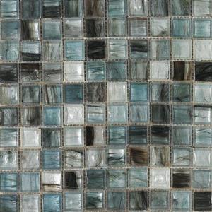 GlassTile InterglassMurano IM-WHTBL White-Blue