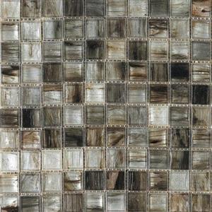 GlassTile InterglassMurano IM-WHTBRN White-Brown