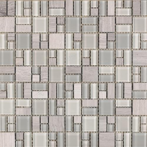 Pietra Cristal Blanco - Geometric