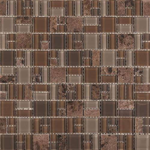 Pietra Cristal Brown - Geometric
