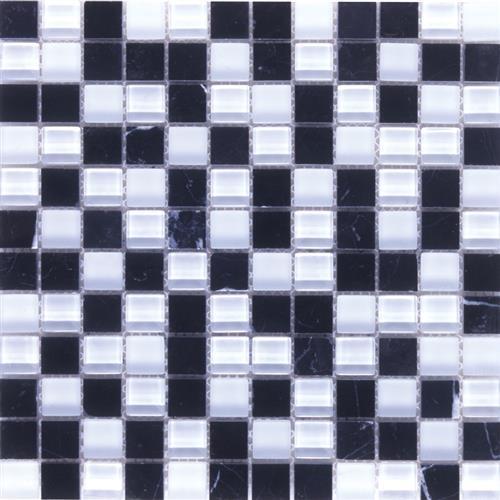 Pietra Cristal Nero Bianco - Cubic