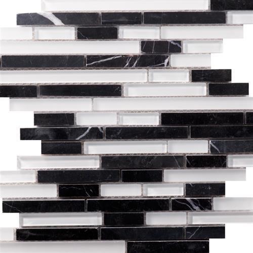 Pietra Cristal Nero Bianco - Strato