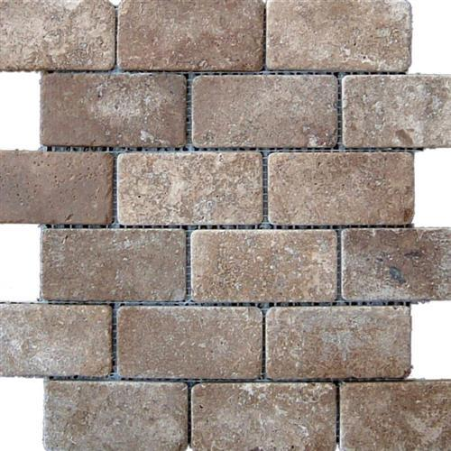 Mexican Travertine Chocolate Chocolate - Brick