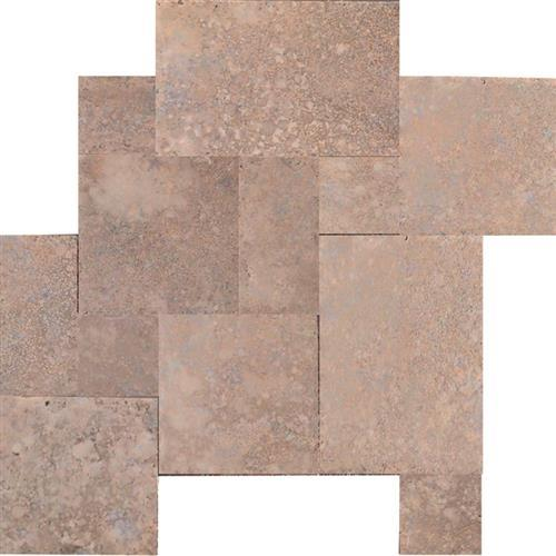 Mexican Travertine Chocolate Chocolate - Versailles