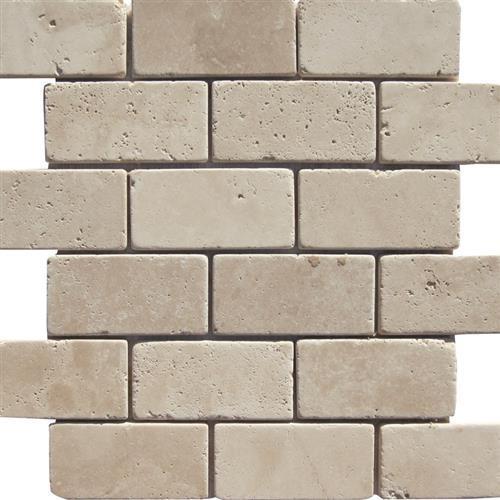 Crema - 2x4 Mosaic