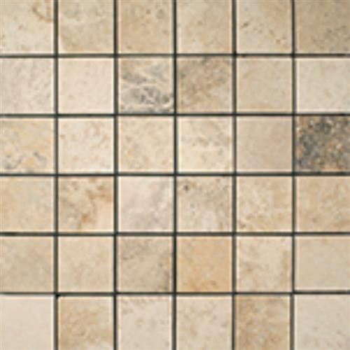 Peruvian Travertine - Andrea Cream Andrea Cream - Mosaic