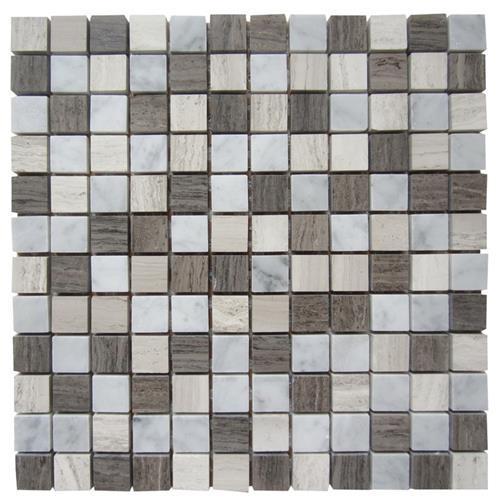 Marble Astoria Astoria Gray - 1X1 Mosaic