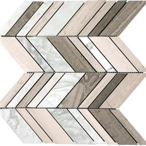 NaturalStone MarbleAstoria MARAST-ARROW AstoriaGray-Arrow