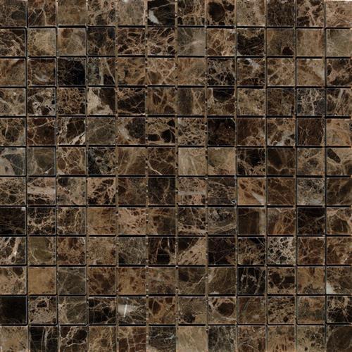 Marble Dark  Light Emperador Dark Emperador - 1X1 Mosaic