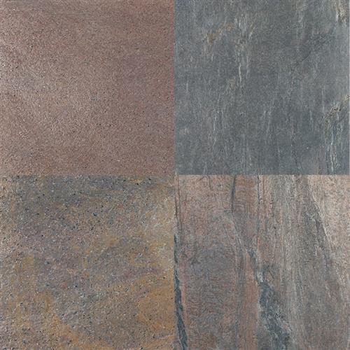 Natural Slate Quartzite Copper - 16X16