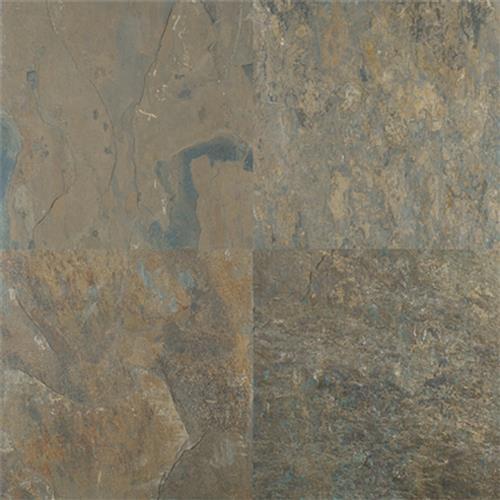 Natural Slate Rustic Gold - 16X16