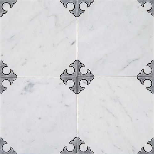 Dramatic Marble  Limestone White - Rodeo