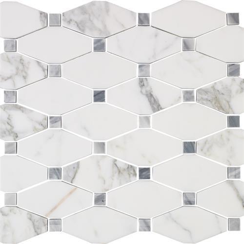 Marble Calacatta Calacatta Gold - 12X12 Mosaic
