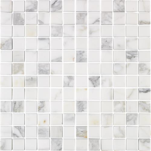 Marble Calacatta Calacatta Gold - 1X1 Mosaic