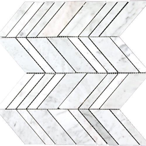 Marble White Carrara White Carrara - Arrow