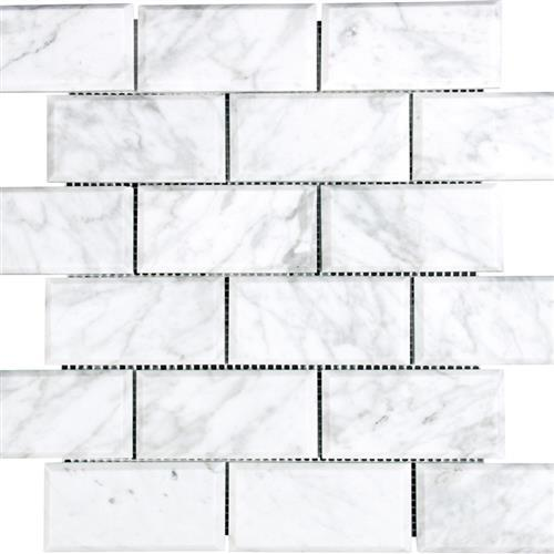 Marble White Carrara White Carrara - Beveled
