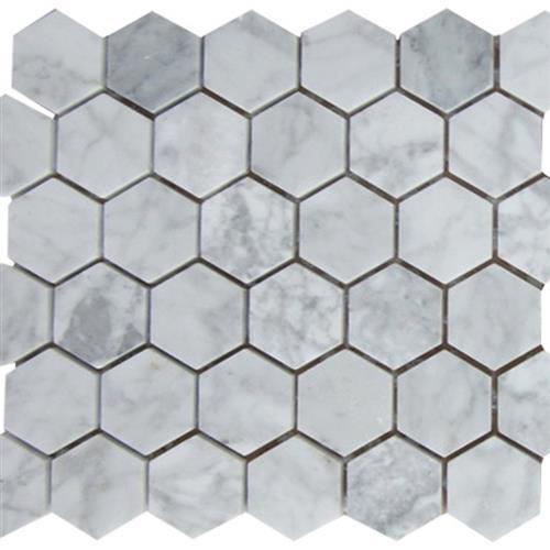 Marble White Carrara White Carrara - Hex