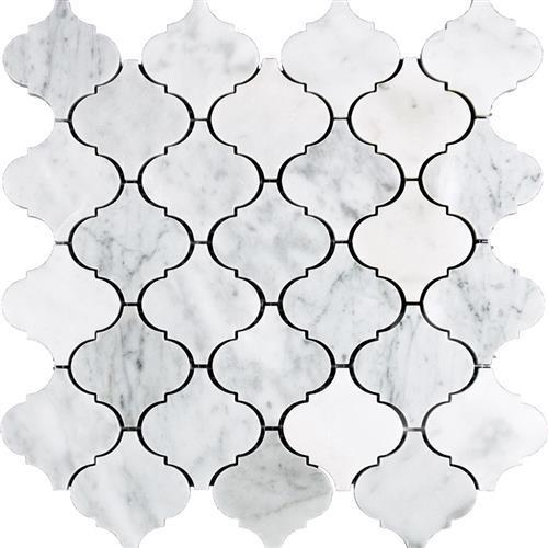 Marble White Carrara White Carrara - Lantern