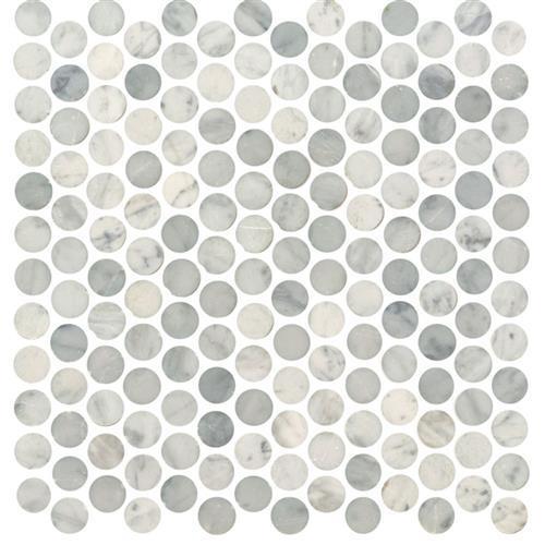 White Carrara - Penny