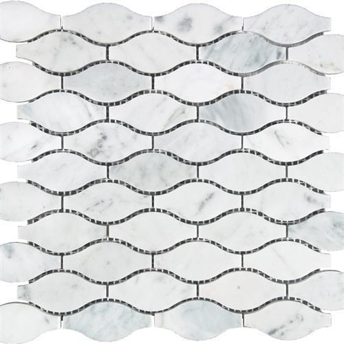 White Carrara - Waves