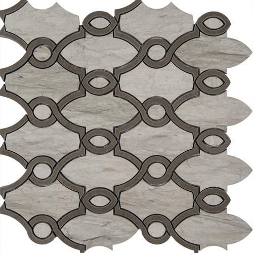 Limestone  Thala Foussana 12X12 Michigan Avenue Honed Mosaic