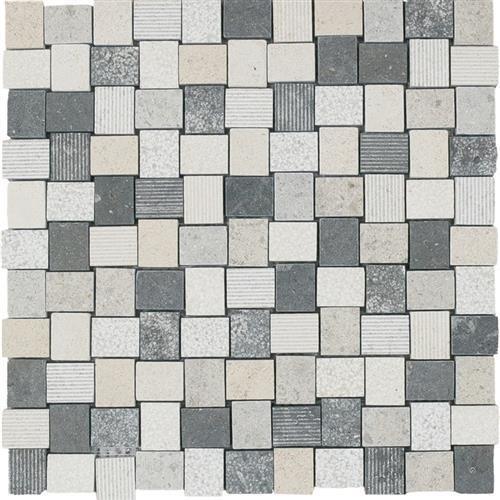 Limestone  Mixage 1X125 Hi/Lo Mosaic
