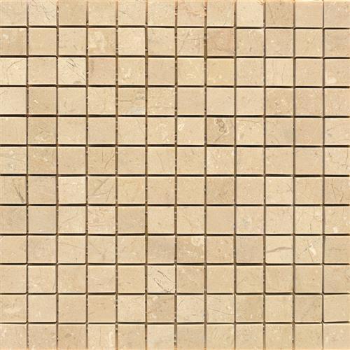 Marble Crema Crema Marfil - 1X1 Mosaic