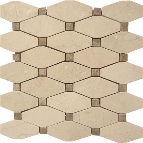 Marble Crema Crema Marfil - Rhombus